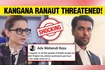 Kangana Ranaut Threatened After She Reacts To The Fir Filed On Her Accused Deletes Account