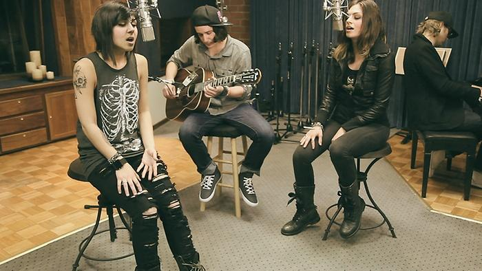 Alive Acoustic Version Video