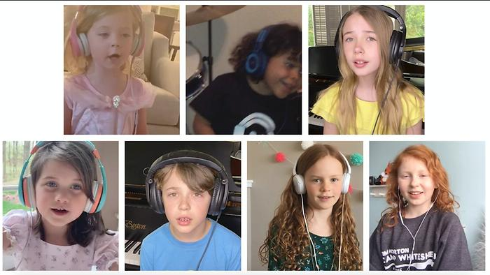 The Most Beautiful Things Kids Sing Along