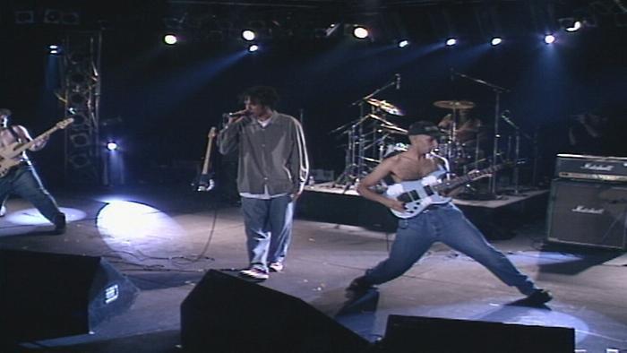 Bombtrack Live Soundstage performance  1992