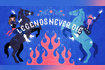 Legends Never Die Official Lyric Video