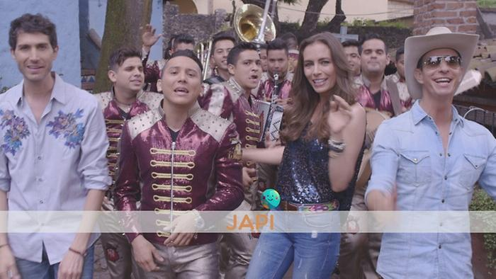 Japi Versión Banda Lyric Video
