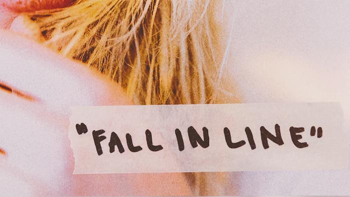 Fall In Line Lyric Video