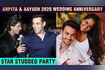 Arpita Khan And Aayush Sharma's 6th Wedding Anniversary-Salman Shahrukh And Stars Attend Party