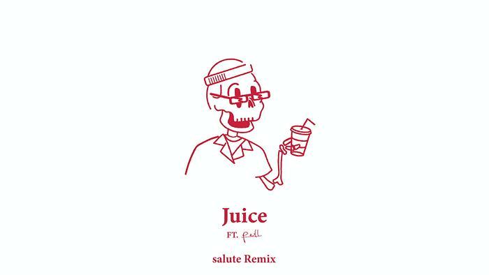 Juice salute Remix  Audio