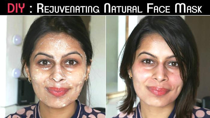 Rejuvinating Banana  Yoghurt Face Mask for Dry Skin