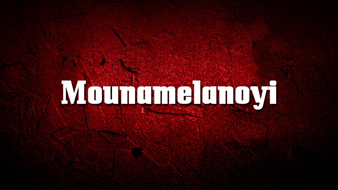 Mounamelanoyi