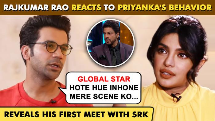 Rajkumar Rao REVEALS Priyanka Chopras Behavior On Sets First Meet With SRK The White Tiger