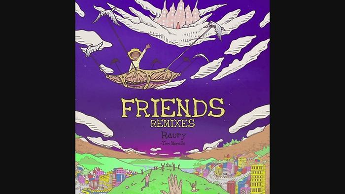 Friends Tom Misch Alternative Remix  Pseudo Video