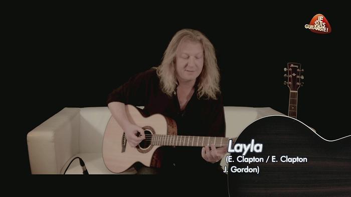 Layla rendu célèbre par Eric Clapton