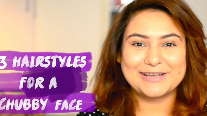 3 Hairstyles For A Chubby FaceEasy Hairstyle TutorialDelhi Fashion Blogger
