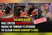 OMG Salman Khan CLEANS Rakhi Sawant's Bed SLAMS Niki Tamboli Bigg Boss 14