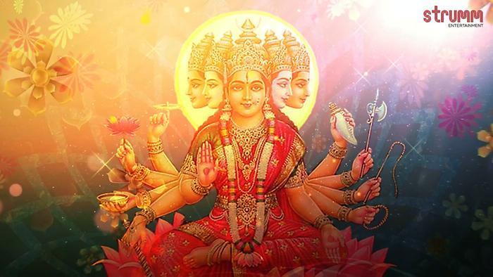 Gayatri Mantra  Evening Chanting  Anuradha Paudwal