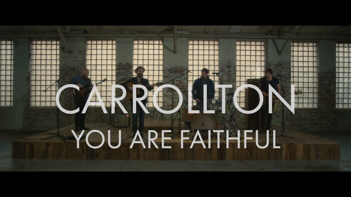 You Are Faithful Performance Video