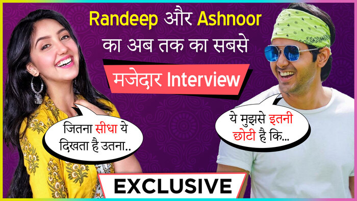 Randeep Rai and Ashnoor Kaur On Their New Song Mana Sakda Hai BTS Moment and More EXCLUSIVE INTERVIEW