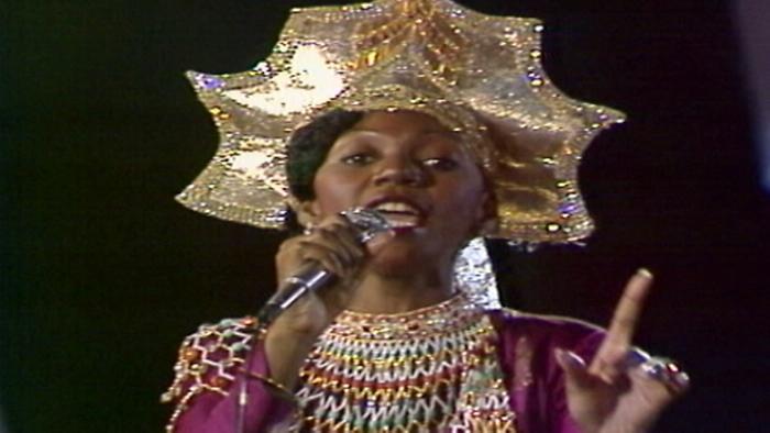 Sunny Sopot Festival performance  1979