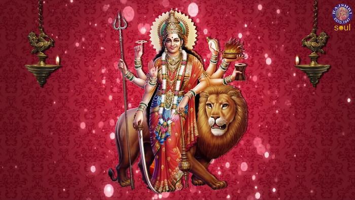 Durge Durghat Bhari With Lyrics
