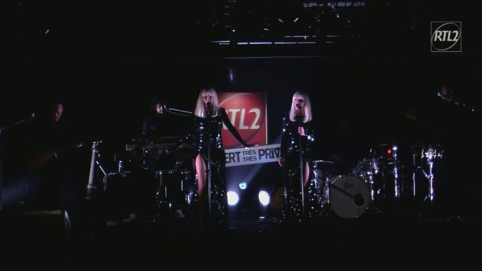 Hier encore  Concert très très privé RTL2