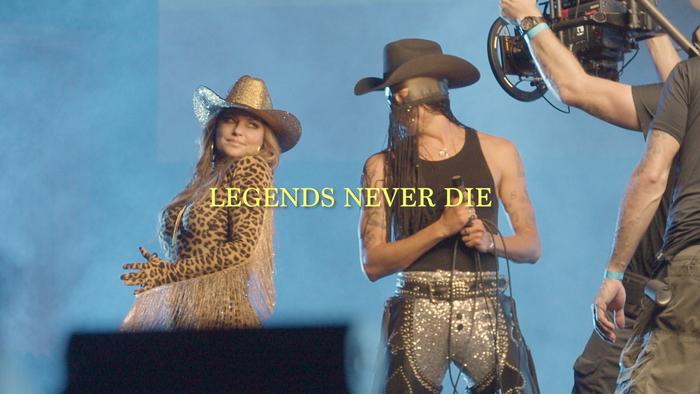 Legends Never Die  Behind the Scenes