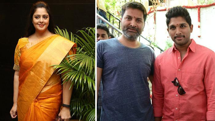 Nagma To Play Allu Arjun Mom In Trivikrams Film