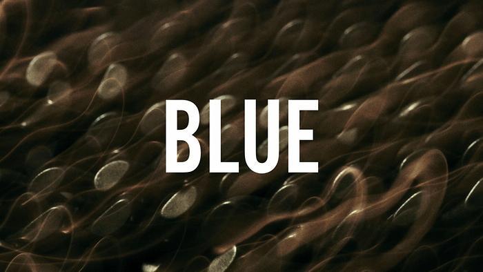 BLUE Lyric Video