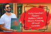 Vicky Kaushal Flaunts Hidden Talent Shares Painting Of Lord Ganesha