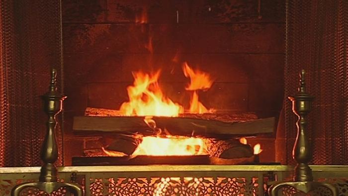 Have Yourself a Merry Little Christmas Yule Log Version