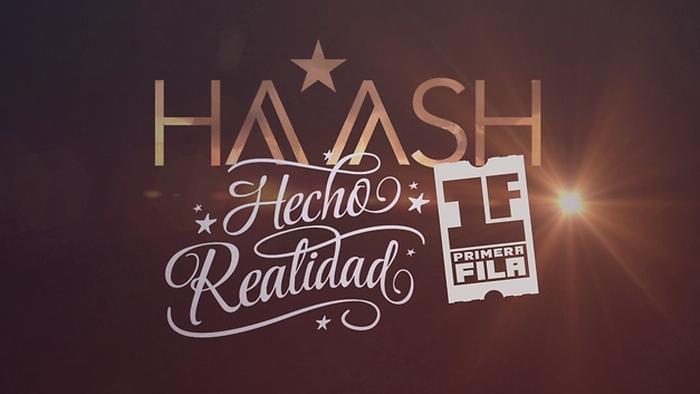 HAASH Logros Primera Fila  Hecho Realidad EPK