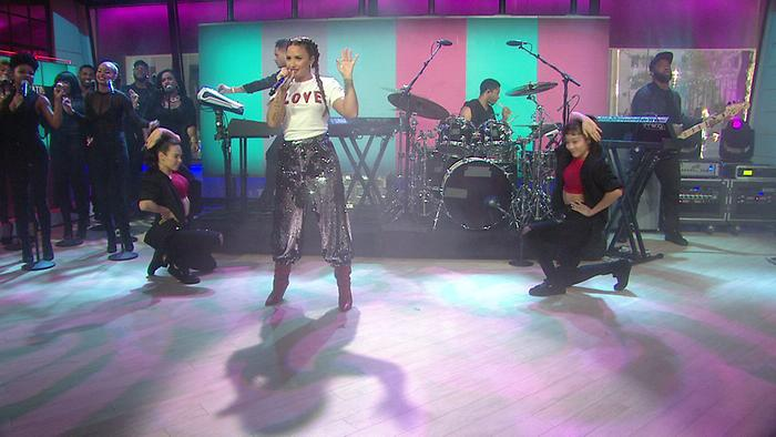 Sorry Not Sorry Live On The Today Show