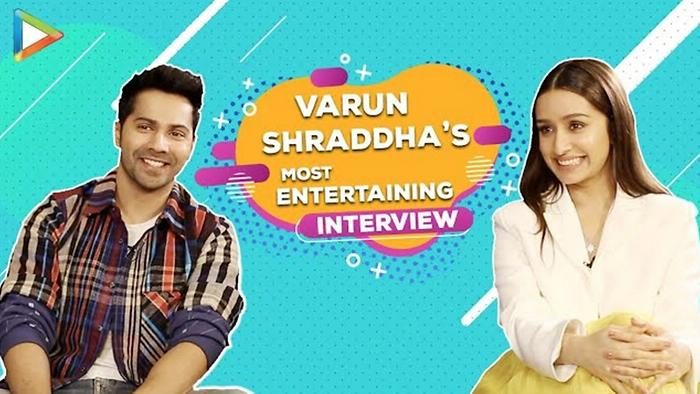 In Conversation with Varun  Shraddha