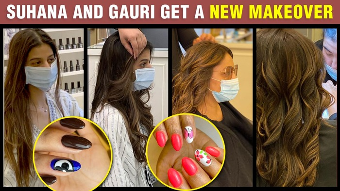 Download Shahrukh Khan S Daughter Suhana Wife Gauri Get A New Hair Style Nail Art In Dubai Salon Video Song From Bollywood Now Video Songs Hungama