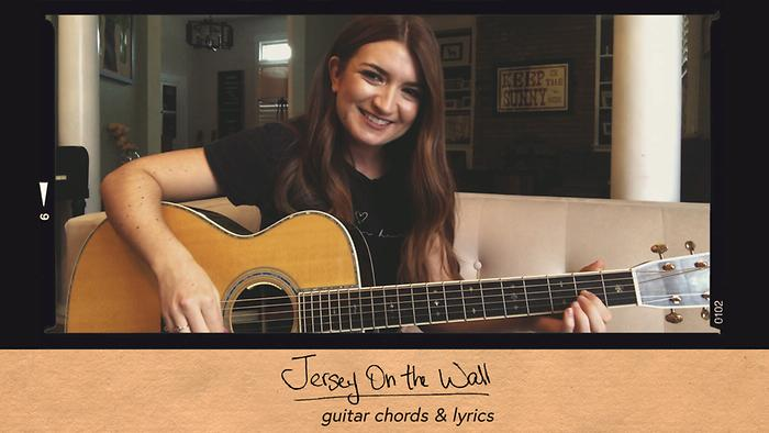 Jersey on the Wall Im Just Asking  Guitar Chords  Lyric Video