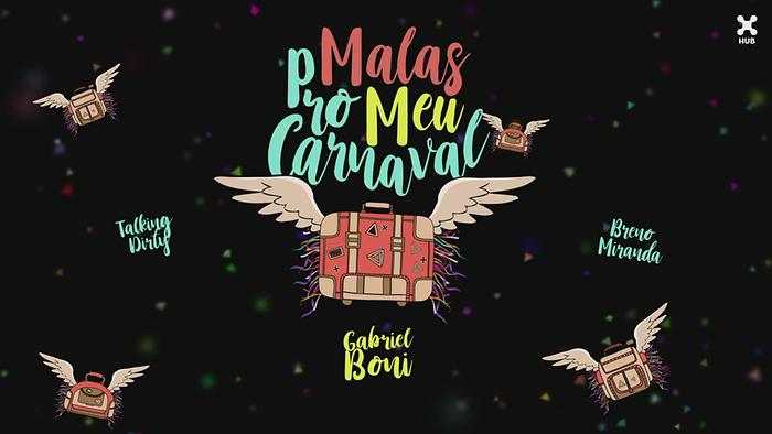 Malas pro Meu Carnaval Lyric Video