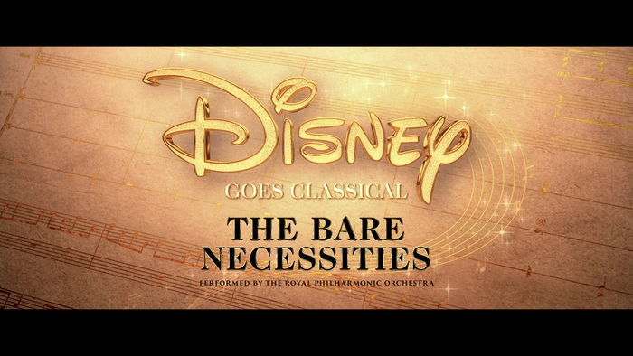The Bare Necessities From The Jungle Book