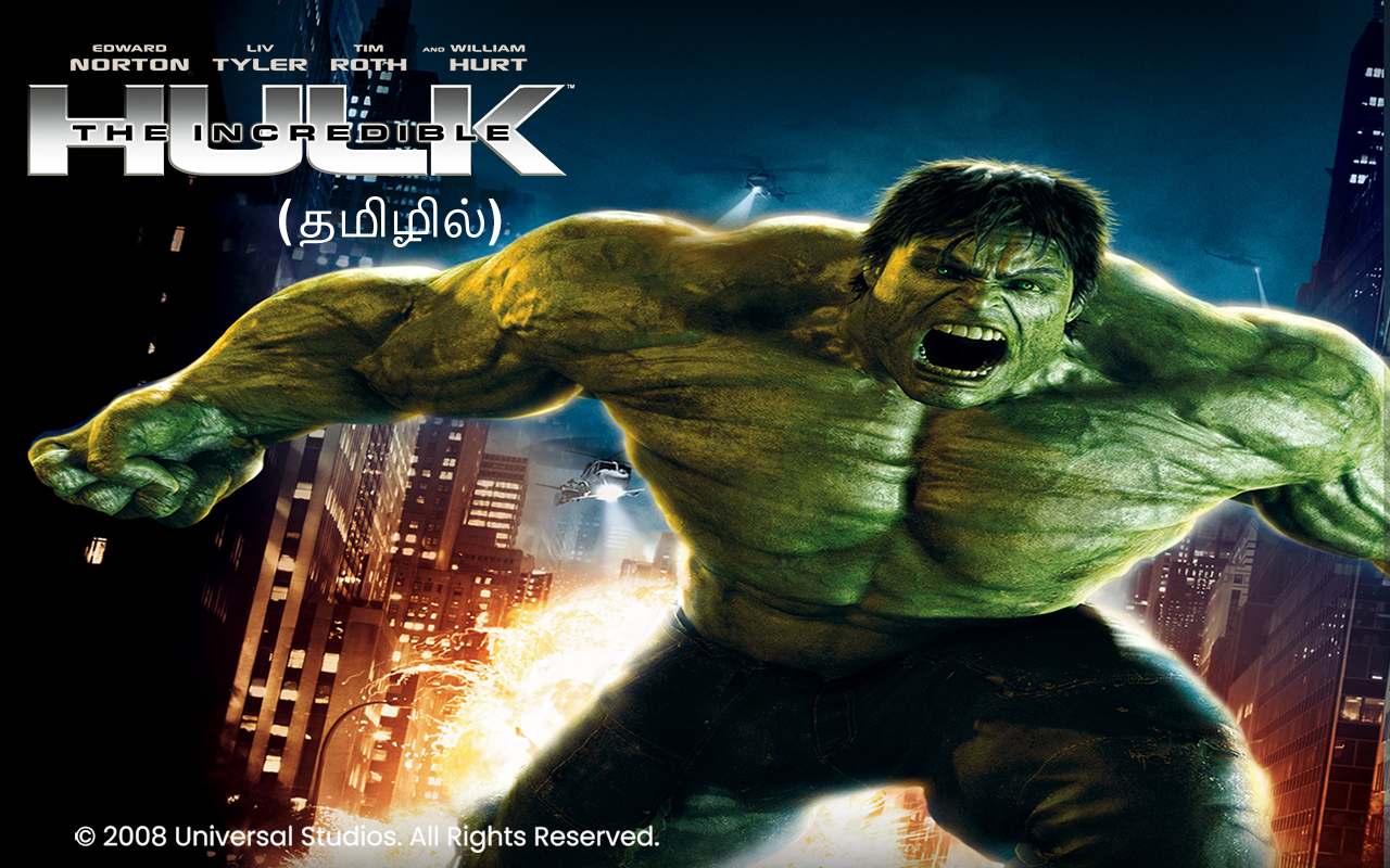 The Incredible Hulk ('08) - Tamil