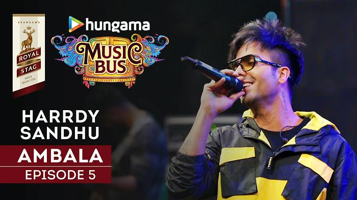 Harrdy Sandhu – Royal Stag Hungama Music Bus