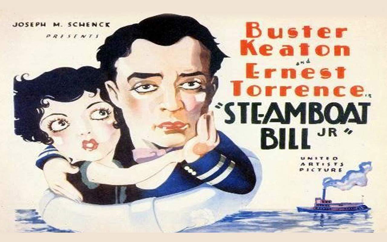 Buster Keaton In Steamboat Bill