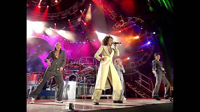 Something Kinda Funny Live At Wembley Stadium London  1998