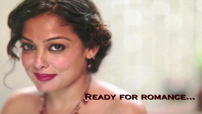 Hair Style Tutorial  Red Romance BLUSH Mrinalinee Mukherjee
