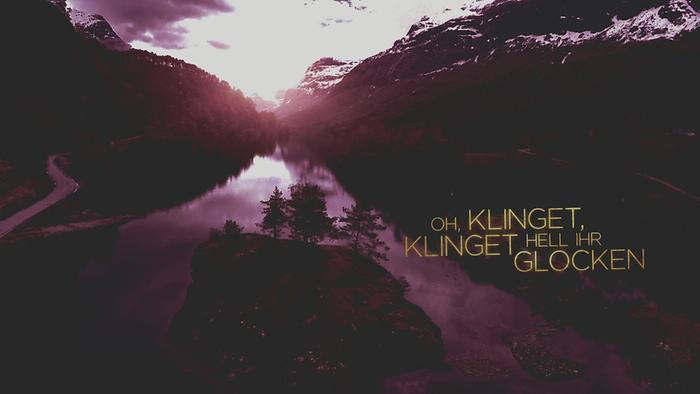Klinget hell ihr Glocken Offiz Lyric Video  Klinga mina klockor