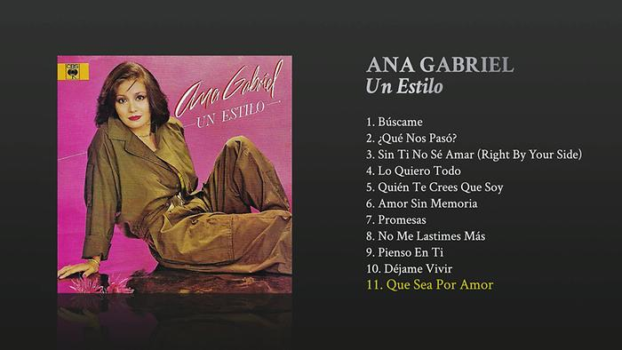 Que Sea por Amor Cover Audio