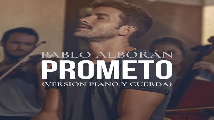 Prometo Versión piano y cuerda