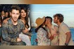 Priyanka Chopra And Nick Jonas Kiss On The Beach