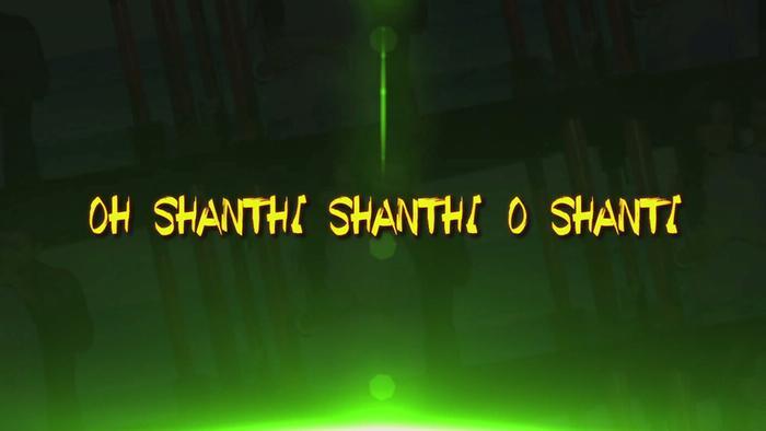 Oh Shanthi Shanthi Lyric Video