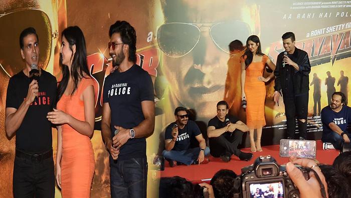 Funny Momments At Sooryavanshi Trailer Launch