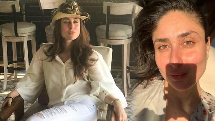Kareena Shares No Makeup Selfie