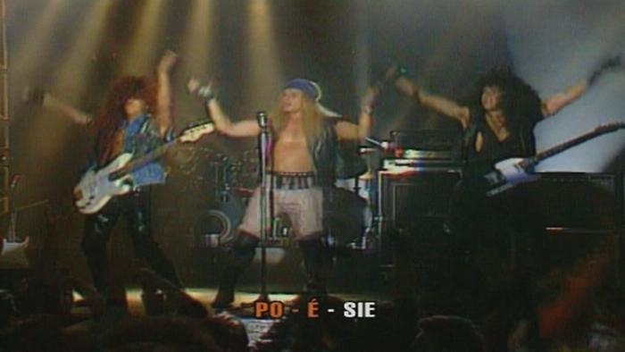 Chanson hard rock Poésie Karaoké