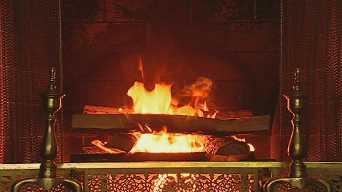 Hark the Herald Angels Sing Christmas Classics The Yule Log Edition