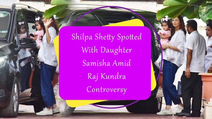 Shilpa with Samisha