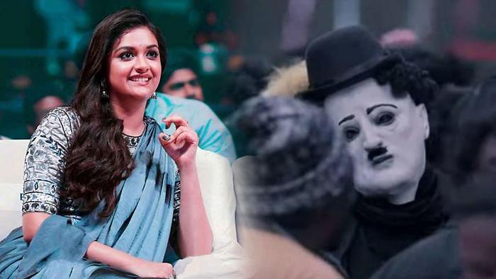 Keerthy Suresh About Charlie Chaplin Role